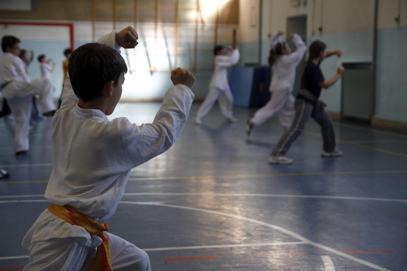 Kung Fu Bambini Verona - kata -lu -forma