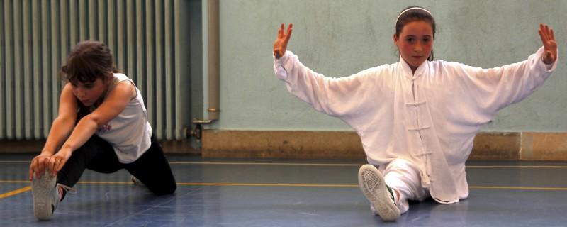 Kung Fu Bambini spaccata