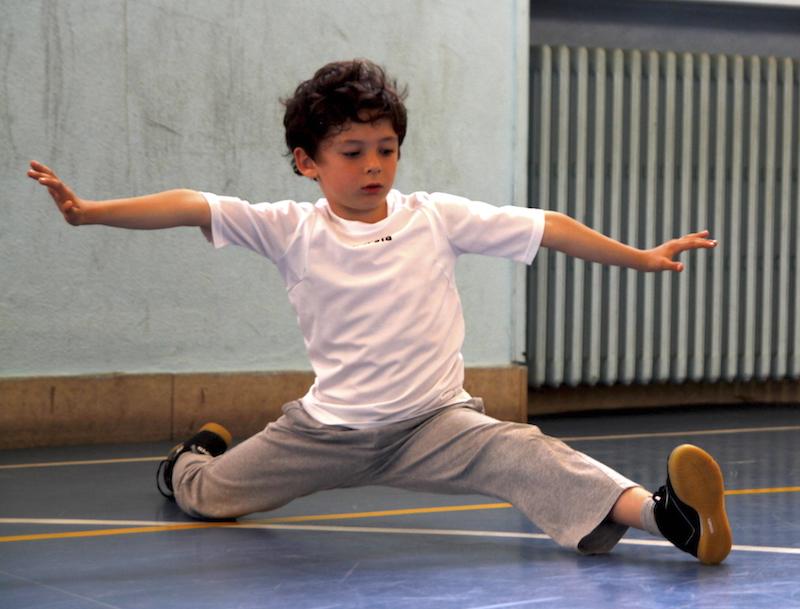 arti marziali bambini Verona - la spaccata