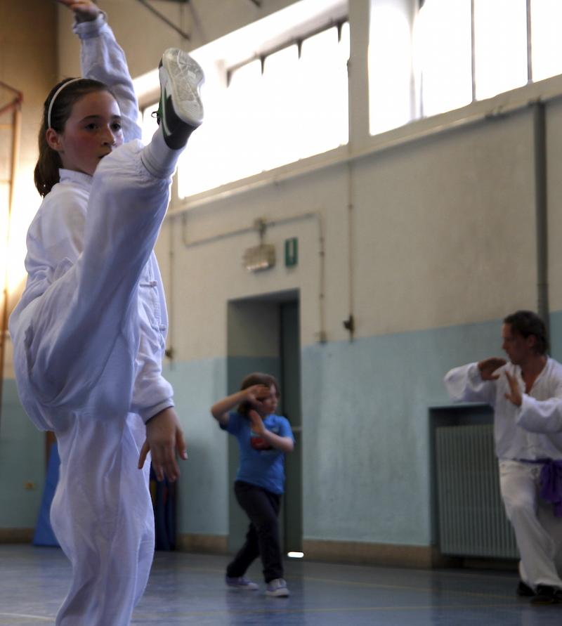 calcio bambini Verona Shaolin (no Karate)